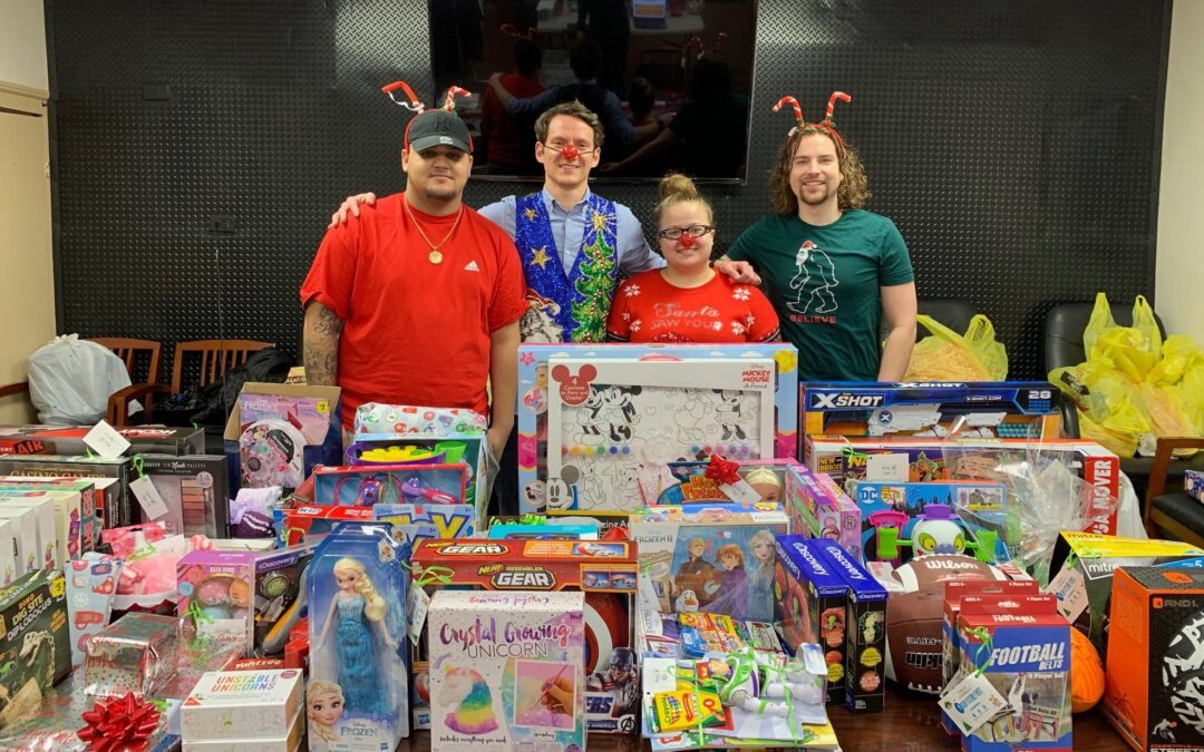 Our First Annual Holiday Toy Drive