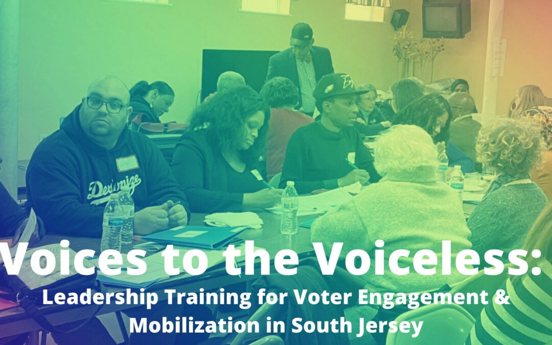 Voices to the Voiceless: Training for Voter Engagement in SJ