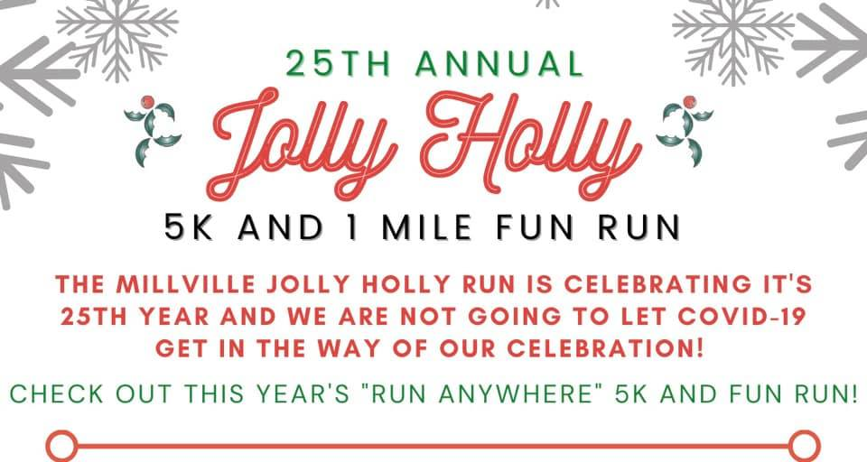 25th Annual Jolly Holly Run!